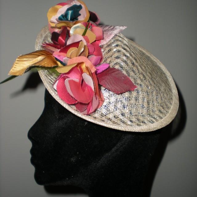 Sombrerito sinamay