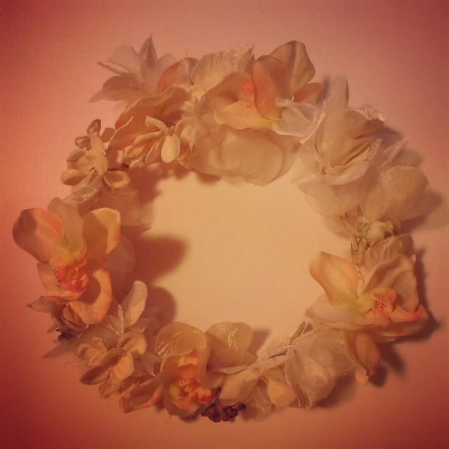 Corona flores agurital