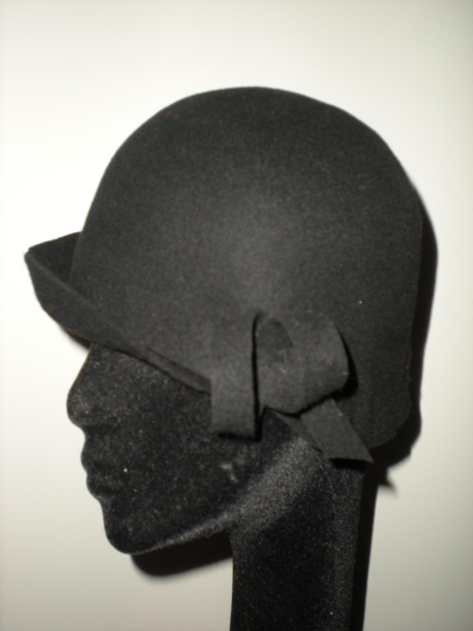 sombrero fieltro agurital negro